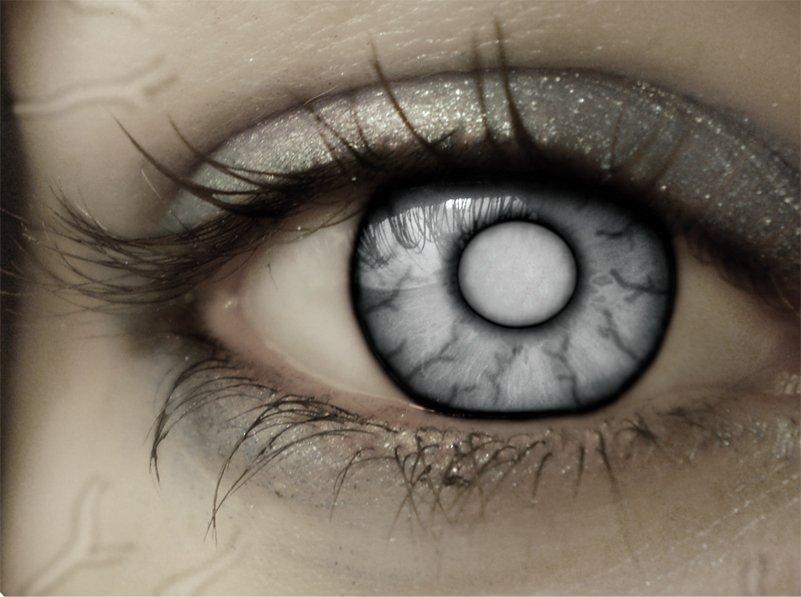 Как сделать себе чёрные глаза в жизни 1000